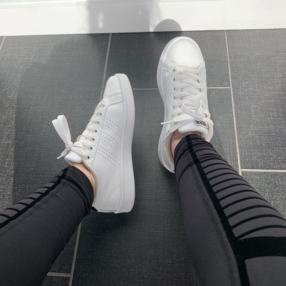 adidas Shoes - adidas Cloudfoam Advantage Clean Sneakers